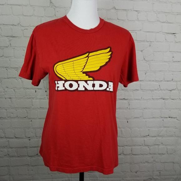 Honda Shirts Vintage Motorcycle Racing Wing Logo T Shirt Poshmark